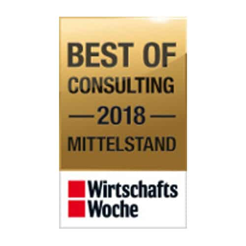 Awarded as Best of Consulting of the Year 2018