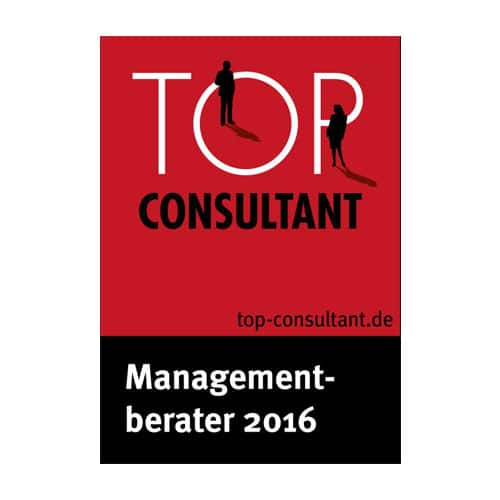Awarded as Top Consultant of the Year 2016