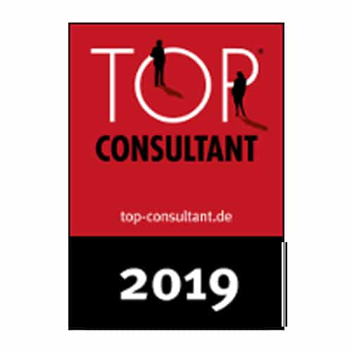 Awarded as Top Consultant of the Year 2019
